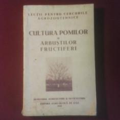 Dogoreanu V., Dodu E., Iliescu I., Cultura pomilor si a arbustilor fructiferi - Carti Agronomie