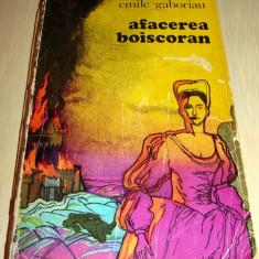 Afacerea Boiscoran - Emile Gaboriau - Roman, Anul publicarii: 1975
