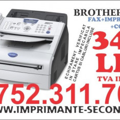 Vand Imprimanta Brother Fax 2920 - Multifunctionala Brother, DPI: 1200, USB