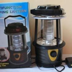 Lampa ( Felinar ) Cu Acumulator si Incarcare Priza Led Light - Felinar gradina