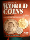 Catalog World Coins 1701-1800 -Ed.Va penultima ,1352 pag.