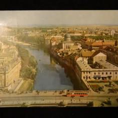 RPR - Oradea - Pe malul Crisului - Carte Postala Crisana dupa 1918