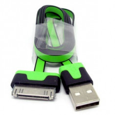 Cablu date Iphone 4 4s + folie protectie ecran + bumper la alegere + expediere gratuita - Cablu de date
