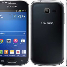 Samsung S7392 Galaxy Trend Duos Black Sigilat Nou - Telefon mobil Samsung Galaxy Trend Lite, Negru, Neblocat