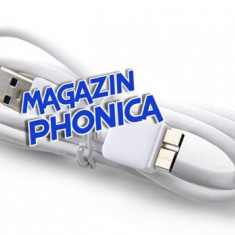 Cablu date USB 3.0 Samsung Galaxy Note 3 N9000 + folie ecran