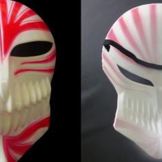 Masca Ishiro Kurosaki, plastic pentru, amuzament, stadion(ultrasi Dinamo)! - Masca carnaval, Marime: Marime universala, Culoare: Alb