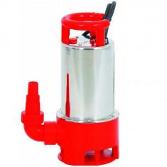 Pompa submersibila pentru apa reziduala TPS 1100 inox