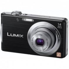 Aparat Foto Panasonic DMC-FS16 Black Memory Card 4GB CADOU!