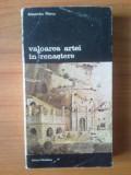 N1  Alexandru Marcu - Valoarea artei in renastere, Alta editura