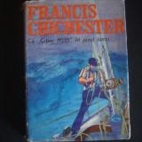 FRANCIS CHICHESTER - CU GIPSY MOTH IN JURUL LUMII {1970} - Carte de calatorie