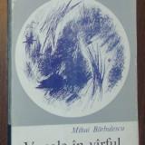 MIHAI BARBULESCU - VOCALE IN VARFUL PIRAMIDEI (VERSURI, volum de debut - 1968) [coperta MIHAI SANZIANU] - Carte poezie