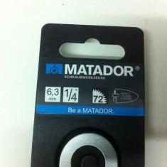 Clichet Marca,, MATADOR 2061 '' 6, 3mm [1/4 ],, este nou '' - Surubelnita