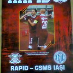 Rapid Bucuresti - CSMS Iasi (15 martie 2014) - Program meci