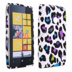 Husa silicon Nokia Lumia 520 + folie protectie ecran + transport gratuit Posta - sell by Phonica
