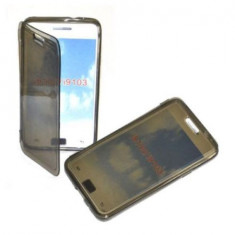 Husa silicon flip Samsung Galaxy S2 i9100 + folie ecran + expediere gratuita Posta - sell by Phonica