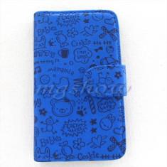 Husa flip toc inchidere laterala Samsung Galaxy S2 i9100 + folie ecran + expediere gratuita Posta - sell by Phonica
