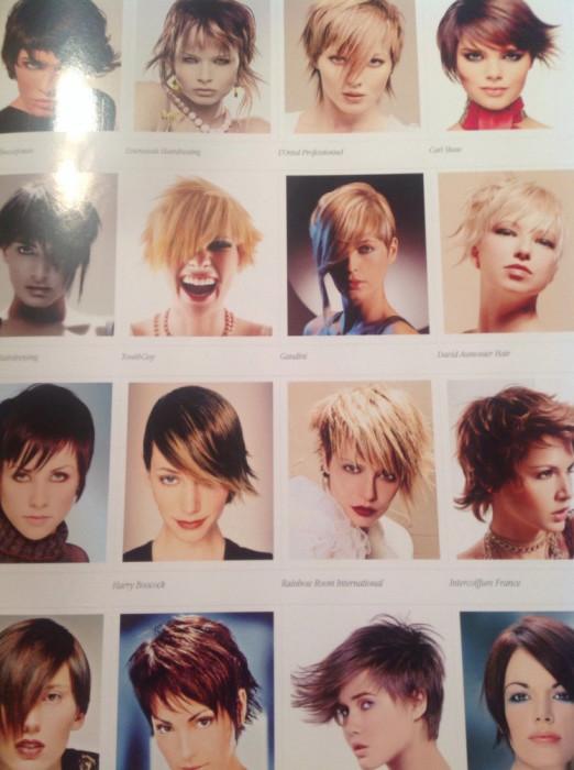 Catalog Revista Coafuri Par Scurt 500 Modele Tunsoare Si Culoare
