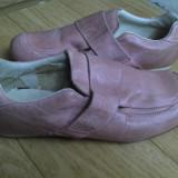 Pantofi din piele marimea 39,purtati o singura data!