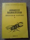 Analele Banatului stiintele naturii 2 muzeul banatului timisoara 1990 natura