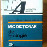 N5 Teofil Craciun, Virginia Craciun - Mic dictionar de biologie - Carte Biologie