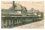 868 - Brasov, FELDIOARA - RAZBOIENI, railway station - old postcard - used - 1928