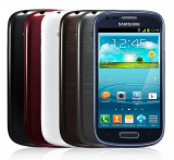 Samsung Galaxy S3 Mini, Albastru, Orange, Smartphone
