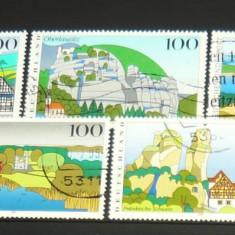 Lot / set timbre stampilate / uzate - NATURA - TURISM - 1994-1995 - GERMANIA - 2+1 gratis pt. produse la pret fix - CHA1487 - Timbre straine, Europa