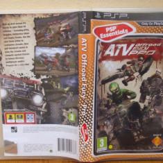 ATV Offroad Fury 4 Pro (PSP) (ALVio) + sute de alte jocuri ( vand / schimb ) - Jocuri PSP Sony, Curse auto-moto, 12+