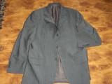 Sacou MASSIMO DUTTI marimea 50 -- super sacou, din lana extrafina si mohair !!!, 3 nasturi, Normal