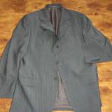 Sacou MASSIMO DUTTI marimea 50 -- super sacou, din lana extrafina si mohair !!! - Sacou barbati, Culoare: Din imagine, 3 nasturi, Normal