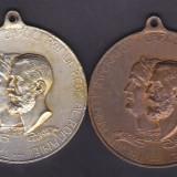 Medalie Romania - Expozitiunea Generala Romana din Bucuresti - 1906 (varianta de bronz si cea argintata - diametru 40 mm) - Medalii Romania