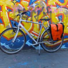 BICICLETA PANTHER Volta 1, TREKKING BIKE - Bicicleta Trekking, 19 inch, 28 inch, Numar viteze: 24, Aluminiu, Gri metalizat