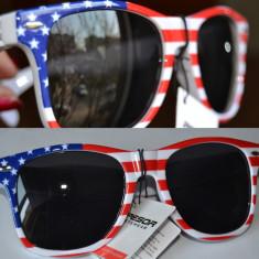 Ochelari de soare wayfarer british +saculet - Ochelari stil wayfarer, Unisex