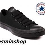 Tenisi CONVERSE All*Star - All Black !!! - Tenisi barbati Converse, Marime: 36, 37, 39, 44, Culoare: Negru, Textil