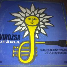 Tavirozsa Nufarul compilatie disc lp vinyl Muzica Rock electrecord folk festival sf Gheorghe, VINIL