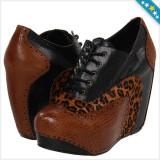 100% AUTENTIC - Pantofi cu Platforma CHINESE LAUNDRY Kickstart - Pantofi Dama, Femei - Pantofi Piele Naturala - Pantofi Originali