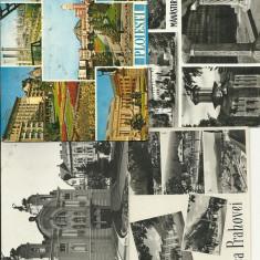 ROMANIA LOT CARTI POSTALE CLUJ - PRAHOVA -M. COZIA -PLOIESTI