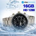 Ceas Business cu Camera Spion HD1280, Memorie 16GB, SPY DVR, Foto 3264x2448, 5MP