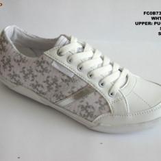 Pantofi sport dama-WINK-FS 256-3 - Adidasi dama Wink, Culoare: Alb, Marime: 36, 37, 38, 39, 40, 41