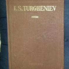I. S. Turgheniev OPERE vol. 8 Nuvele si povestiri Ed. Cartea Rusa 1957 cartonata - Carte de colectie
