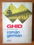 n5  Ghid de conversatie roman-german - Ilse Chivaran-Muller, Liane Bidian