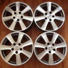 Set jante BORBET Model CA 17 ' inch pt BMW E36 E46 F30 E60x E87 F20 X3 X5 - Janta aliaj Borbet, Latime janta: 7, Numar prezoane: 5, PCD: 120