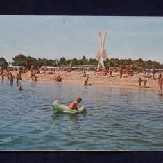 RPR - Costinesti - Vedere de pe plaja - Intreg postal