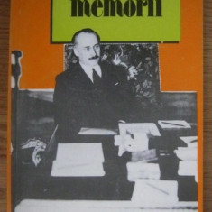 I. G. Duca MEMORII vol. III (1916-1917) Ed. Machiavelli 1994 - Istorie