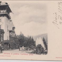 B76795 Romania Sinaia 1900 Intrarea la Peles