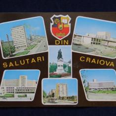 RPR - Salutari din Craiova - Intreg postal