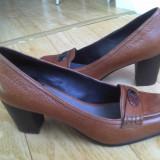 Pantofi din piele firma MARC O'POLO marimea 39,arata ca noi!