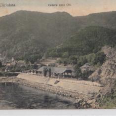 B76819 Romania Calimanesti Caciulata Vedere spre Olt