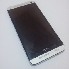 Htc one - Telefon mobil HTC One, Argintiu, Neblocat, Single SIM