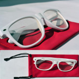 OchelarI WAYFARER transparenti DIOPTRII - Rama Tip Wayfarer